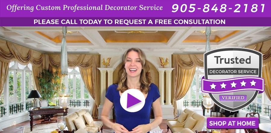Decorator Service Drapery