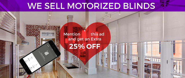 Motorized Blinds Sale